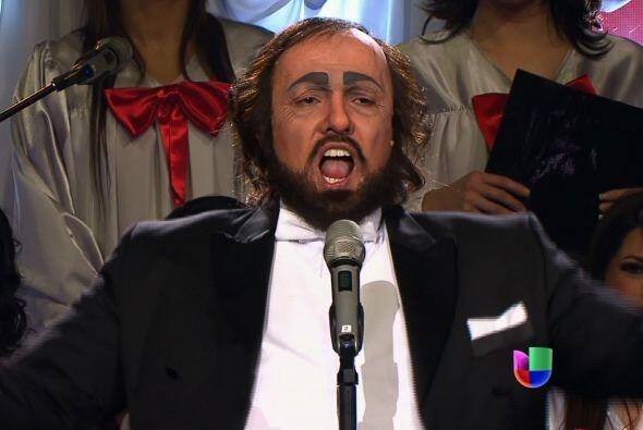 "Luciano Pavarotti le ganó a ""scar de León."