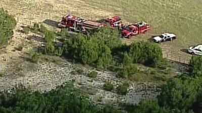 La Oficina del Sheriff del Condado Kendall reportó que una pequeña aeron...