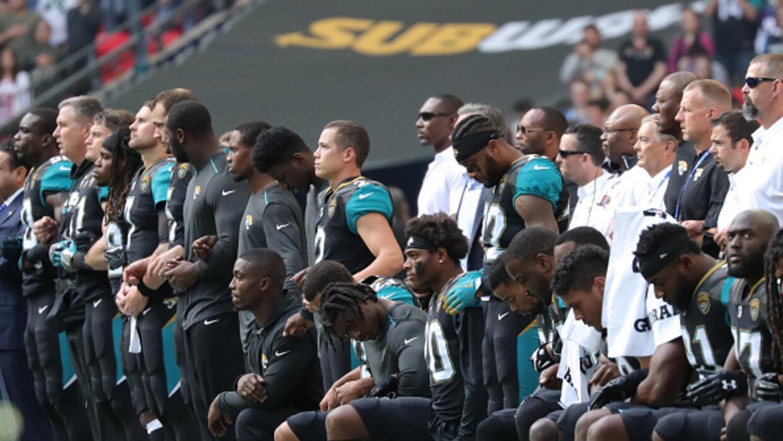 protesta en juegos de futbol