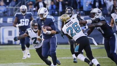 Titans 42-39 Jaguars: Marcus Mariota se luce con una carrera de 87 yarda...