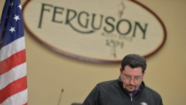 James Knowles alcalde de la localidad de Ferguson.