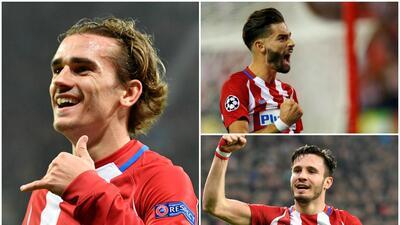 Con el regreso de Carrasco, este sería el once del Atlético ante el Madrid en la Champions