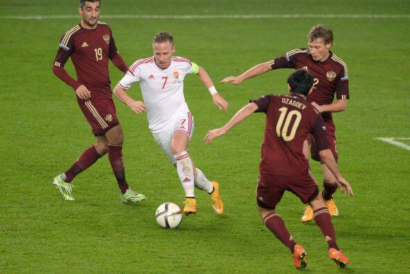 Hungría y Rusia también jugaron entre sì este martes.