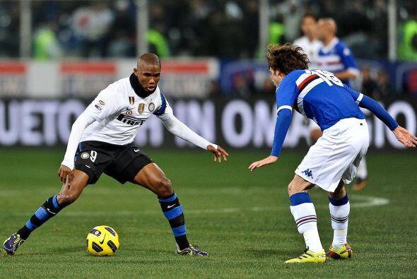 El Inter de Milán visitó el campo de la Sampdoria, con el objetivo de la...