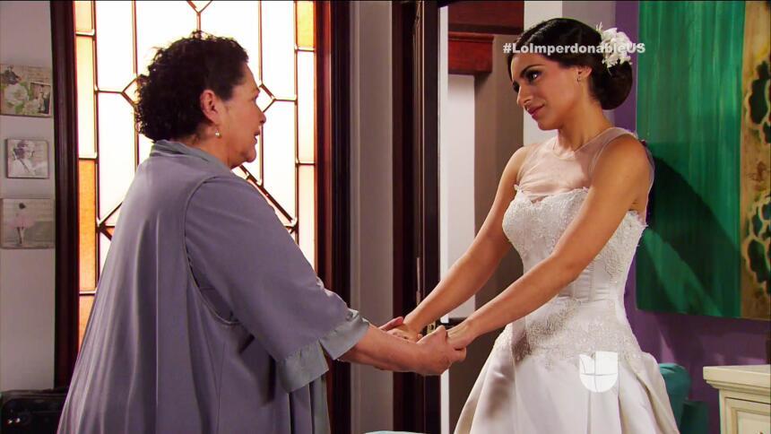 ¡Verónica es la novia más linda del mundo!