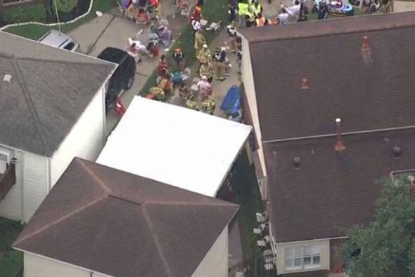 Al menos unas 50 personas resultaron heridas luego del colapso parcial d...