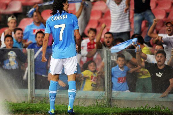 Milan inició ganando, pero Cavani habló con goles, tres para ser exactos...