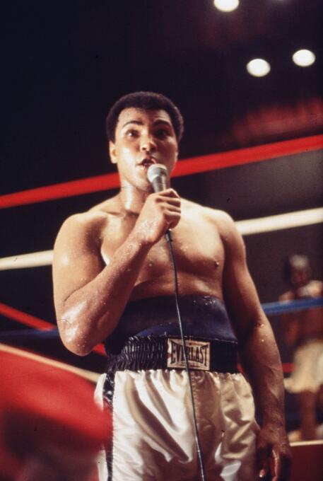 El mítico Muhammad Ali se retiró por primera vez en 1978, como campeón m...