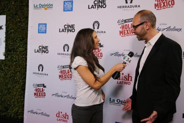 El pasado viernes arranco el Hola México Film Festival en Los Angeles!
