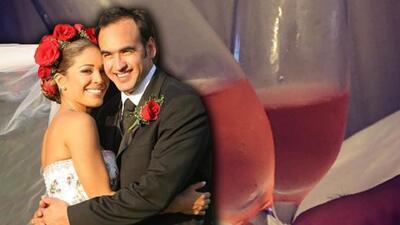 """""""Quiero hacerme viejita a tu lado"""": el romántico mensaje de Karla Martínez en su aniversario de bodas (fotos)"""