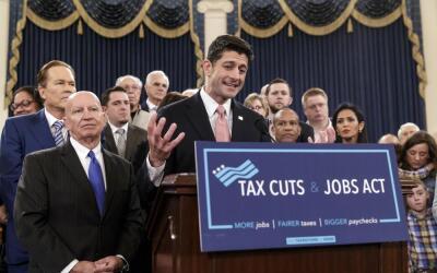 Paul Ryan lidera la bancada republlicana de la Cámara y est&aacut...