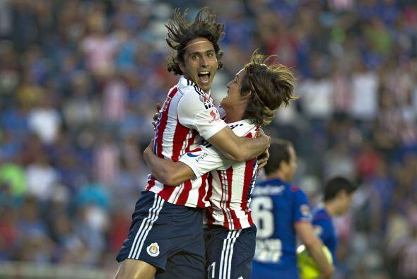 Aldo anotó el gol del empate momentáneo ante el Cruz Azul y contra el Mo...