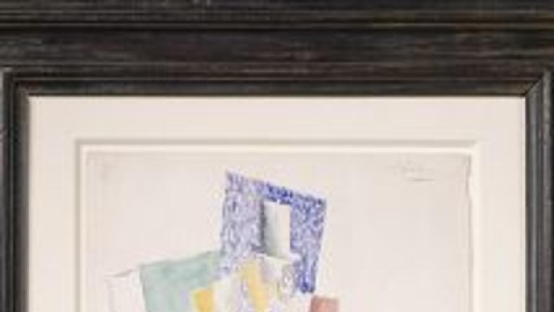 Aquí el Picasso valuado en un millón de dólares.