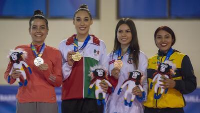 En fotos: México tuvo una importante cosecha de medallas en Barranquilla 2018