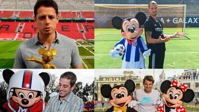 El deporte y su cercanía con Mickey Mouse quien cumple 90 años