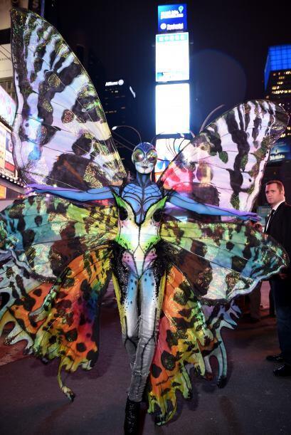 Este es el 'outfit' que la modelo eligió para la décimo quinta edición d...