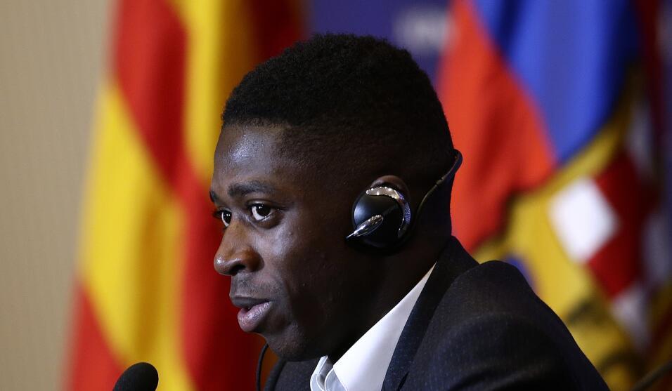 Ousmane Dembélé vuelve a los entrenamientos con Barcelona AP_17240511436...
