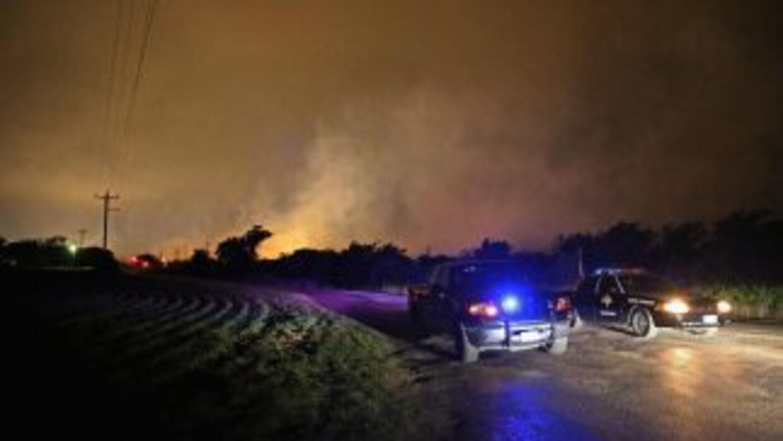 La explosión, ocurrió a unos 100 kilómetros al sureste de la comunidad d...