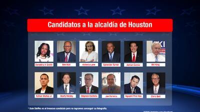 Candidatos a alcaldía de Houston