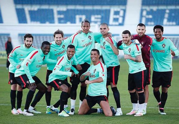 Cristiano es el 'Lord' de los entrenos y las poses del Real Madrid Captu...
