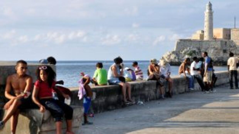 El malecón de La Habana.