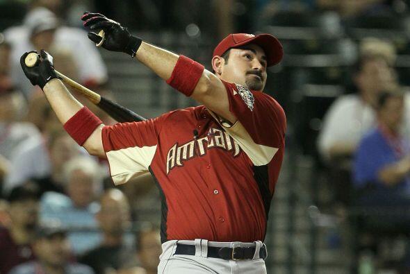 1B: El 'Titán', Adrián González, llegó a la final del Home Run Derby y c...