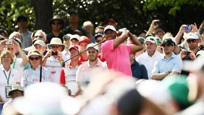 Tiger Woods, el ídolo de las masas del golf que vuelve al Masters de Augusta