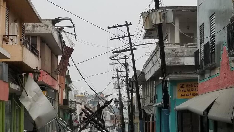 Manatí, Puerto Rico, después del paso del huracán M...