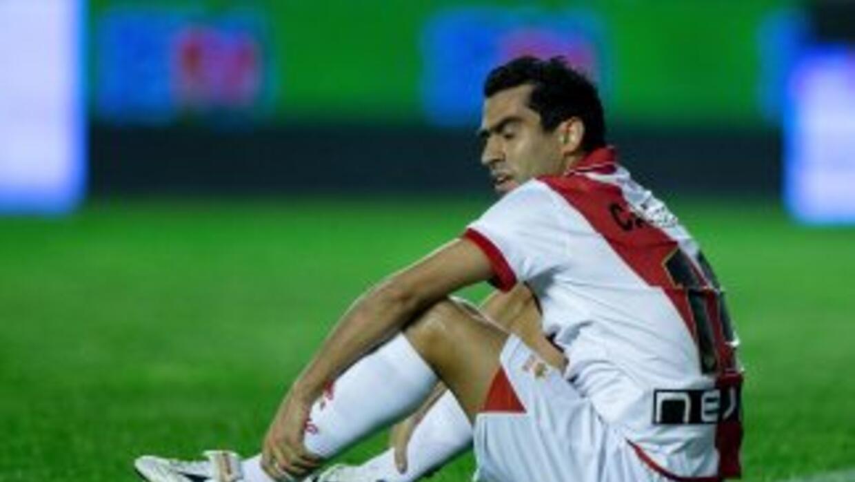 Nery Castillo no pudo lucir en elRayo por las constantes lesiones.