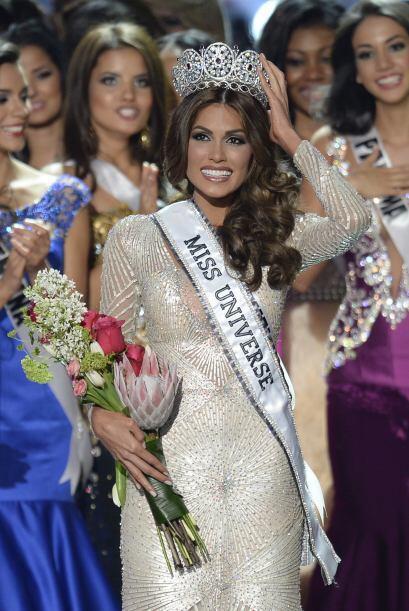 La venezolana, Gabriela Isler, se coronó como la nueva Miss Universo 201...