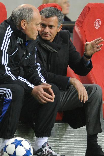 La UEFA planea investigar la picardía de Mourinho. Las cámaras captaron...