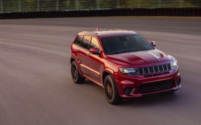 Jeep Grand Cherokee Trackhawk 2018 similar a los modelos robados de una...
