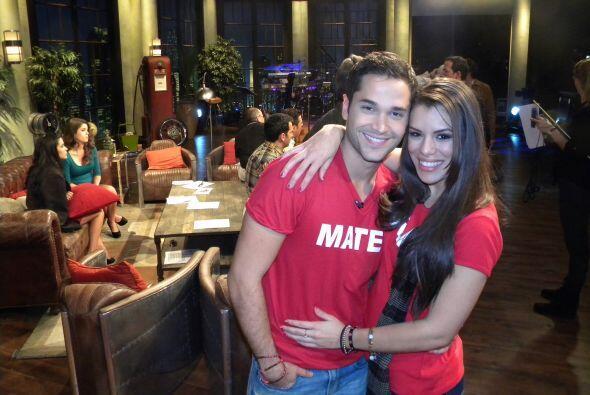 Marlin les platicó sobre las duchas y su romance con el cubano, Adrián.