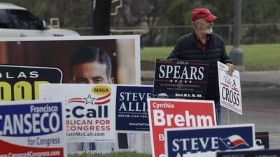 La participación en la votación anticipada creció respecto a 2014 en Texas.