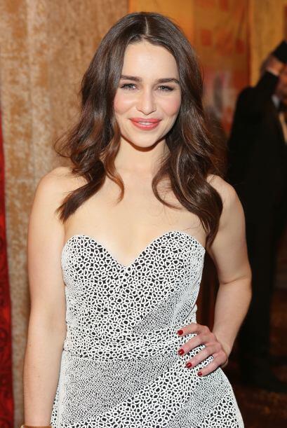Emilia ClarkeLa actriz británica brincó a la fama por su belleza la cual...