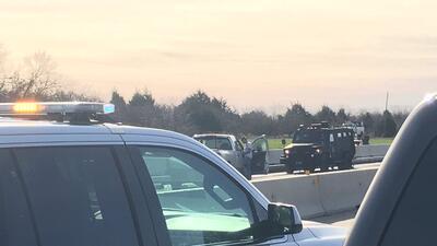 Cierran la autopista interestatal 45 al sur de Corsicana luego de una serie de disparos