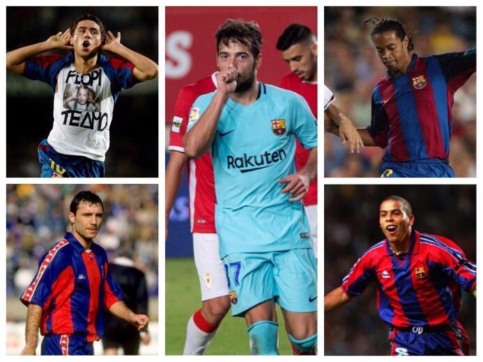 Arnaiz y otros debuts con gol en la historia del Barcelona debuts-fcb.jpg