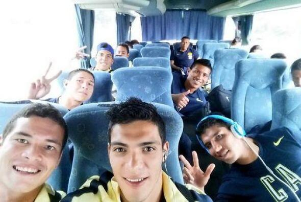 Raúl Jiménez cargó esta foto el sábado previo al debut del América en el...