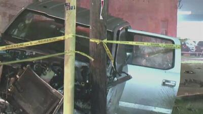 Investigan un violento accidente de tránsito que deja a una persona muerta