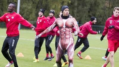 El jugador fue castigado por su bajo rendimiento en los entrenamientos....
