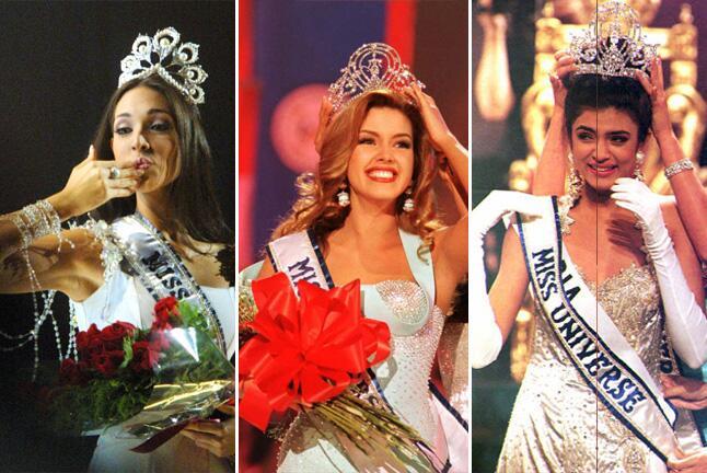 De Miss Universo a cantantes