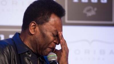 Pelé está triste por su hijo Edinho que deberá pagar una indemnización v...