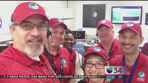 Guatemalteco comanda misión de la NASA en Júpiter