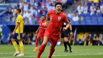 En fotos: Inglaterra es semifinalista tras derrotar 2-0 a Suecia en cuartos de final