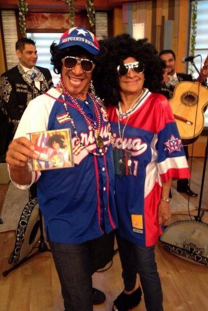 """Por hay vamos NY, ya comienza la fiesta"", prometió Johnny. (Mayo 11, 2014)"