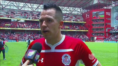 """Rodrigo Salinas aseguró que la victoria 3-0 ante Xolos es importante para """"buscar cosas grandes"""""""