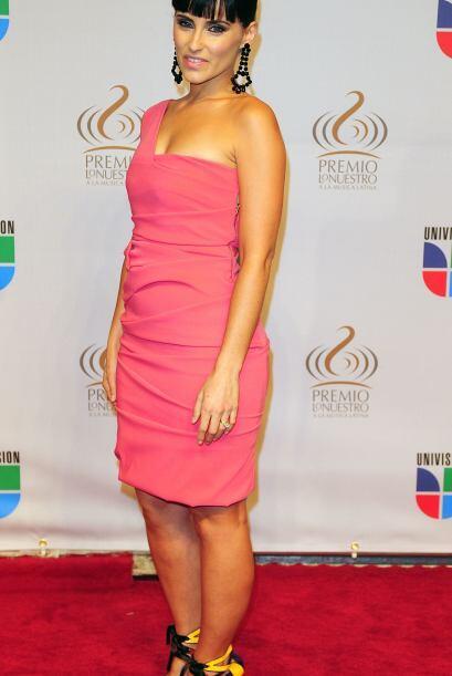 Nelly Furtado vino muy fresca y juvenil al estilo Miami.