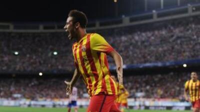 El gol de Neymar deja pareja la eliminatoria para que la definición se v...