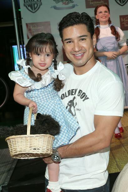 Con ella tiene a su adorable nena, Gia Francesca, quien nació en septiem...