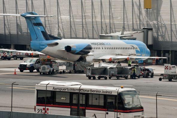 Al momento de la suspensión de actividades, Mexicana de Aviación, fundad...
